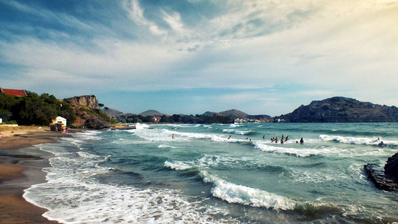 The beaches of Lemnos